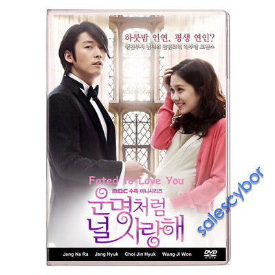 Buy 5 Get 1 Free  Fated To Love You Korean Drama  5Dvd   Excellent English