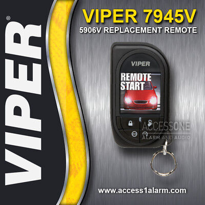 Viper 7945V Responder HD SST 2-Way OLED Color Remote Control For The Viper 5906V