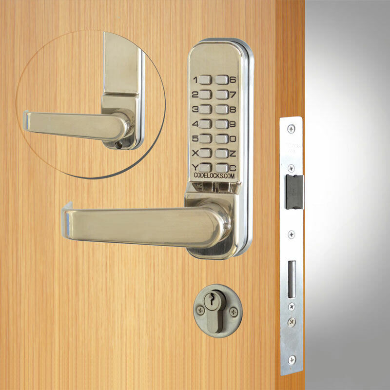 Codelocks CL420 Mortice Lock SS (CL420-SS)