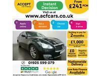 2017 BLACK INFINITI Q70 2.2 D PREMIUM DIESEL AUTO SALOON CAR FINANCE FR £241 PCM