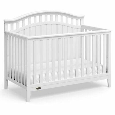 Graco Harper 4 in 1 Convertible Crib in White
