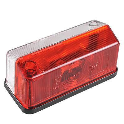 Umrissleuchte Rot / Weiß Begrenzungsleuchte Pkw Anhänger Lampe Leuchte Licht KFZ