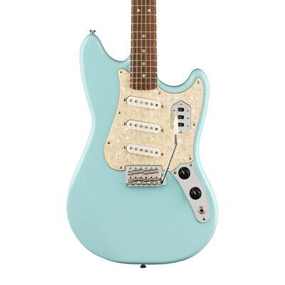 Fender SQUIER Paranormal Cyclone Guitarra Eléctrica, Daphne Azul (Nuevo)