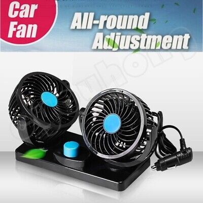 12V Portable Air Conditioner For Car Alternative Plug In Vehicle Fan Dash Mount