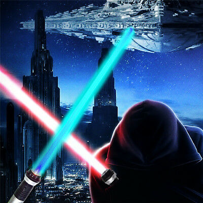 Star Wars Light Saber with Sound Glowing Battle Toy Sword Color Changing 2 Piece - Light Saber Swords