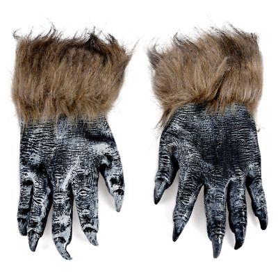 1 Paar Wolf Handschuhe Halloween Maske Tier Maske - Paar Maskerade Masken