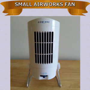SMALL TABLE TOP AIRWORKS FAN - PRISTINE CONDITION