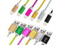 1.5m USB charger sync cable iPhone 5 6 7 plus
