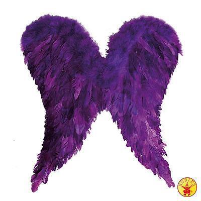 Engelsflügel lila Flügel 65x60 cm Engel Kostüm Fasching Gothic Elfe 129060213