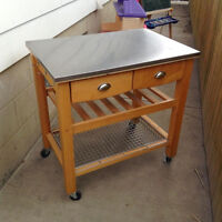 Beautiful Kitchen Island!! - Up for Grabs