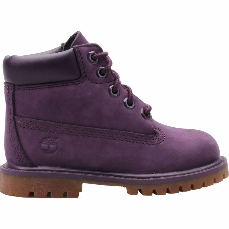 "Timberland Toddler's 6"" Premium Water Proof Boot NEW AUTHENTIC Purple A14VL5"