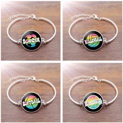 Charm Ball love Glass Cabochon Bracelets Creative Unisex Jewelry Gift Wholesales