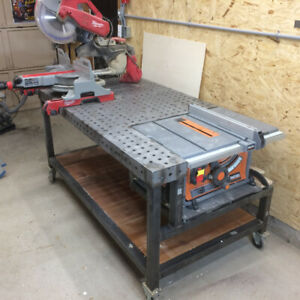 Steel Work Table/Woodworking Table/Welding Table