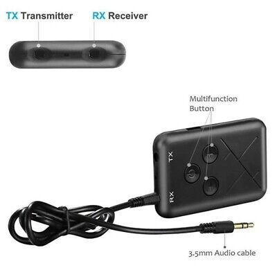 Adaptador Bluetooth Inalámbrico Transmisor Receptor de audio para TV/MP3/PC