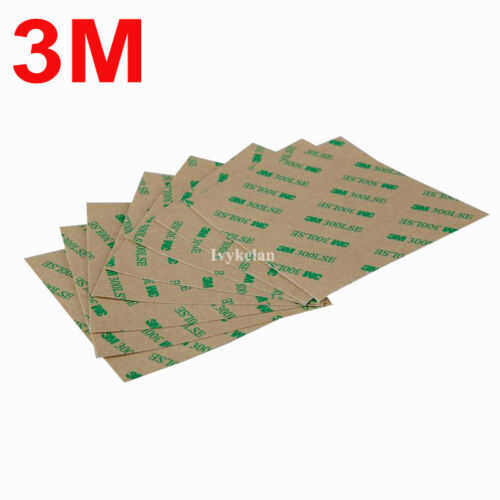 3m 9495le 300lse Clear Double Sided Adhesive Tape For Phone Lcd Repair 10cmx10cm