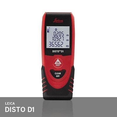 Leica Disto D1 Laser Distance Meter 40m 2.0mm Ip54 87g 115x44x24mm Bluetooth