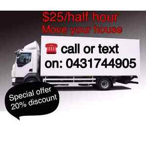 2 Men with truck only $30/half hour Bankstown Bankstown Area Preview