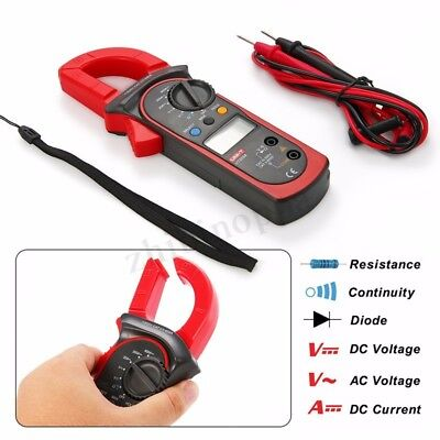 Uni-t Ut202a Auto-range Ac Dcdigital Clamp Meter Multimeter Test Tool 600amps Us