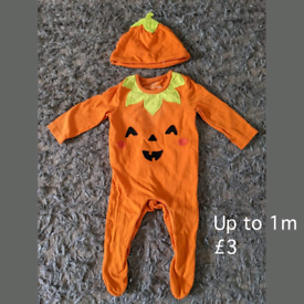 Up to 1m pumpkin outfit
