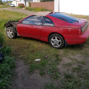 300zx shell for scrap and parts