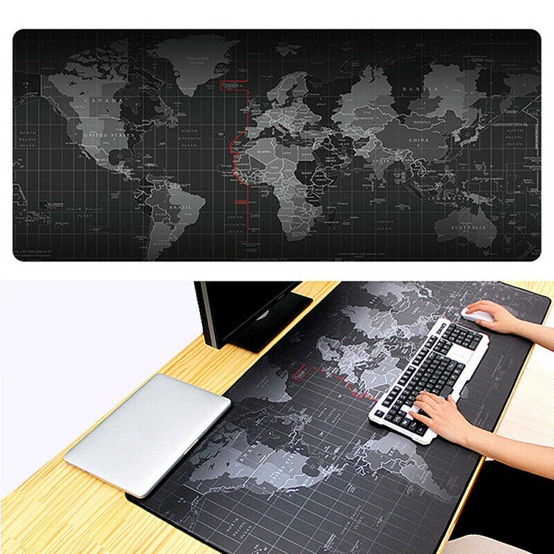 Large Extended Gaming Mouse Pad Computer Keyboard Anti-slip