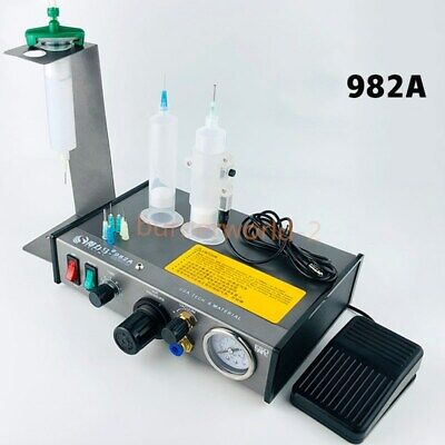 220v Ad-982 Auto Glue Dispenser Pcb Solder Paste Liquid Controller Dropper Fluid