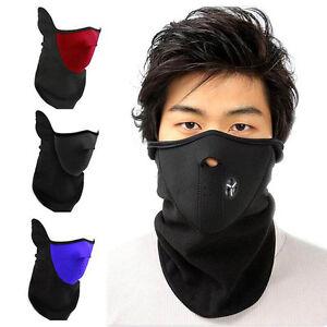 cagoule masque facial protection visage n opr ne tour de cou ski moto motocross ebay. Black Bedroom Furniture Sets. Home Design Ideas