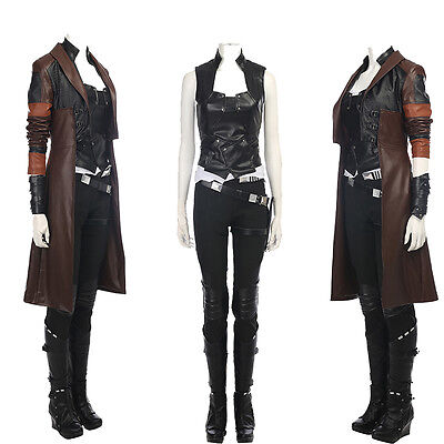 New Type Guardians of The Galaxy 2 Gamora Cosplay Costume and Boots Halloween - Types Of Halloween Costumes