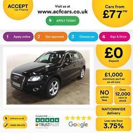 Audi Q5 FROM £77 PER WEEK!