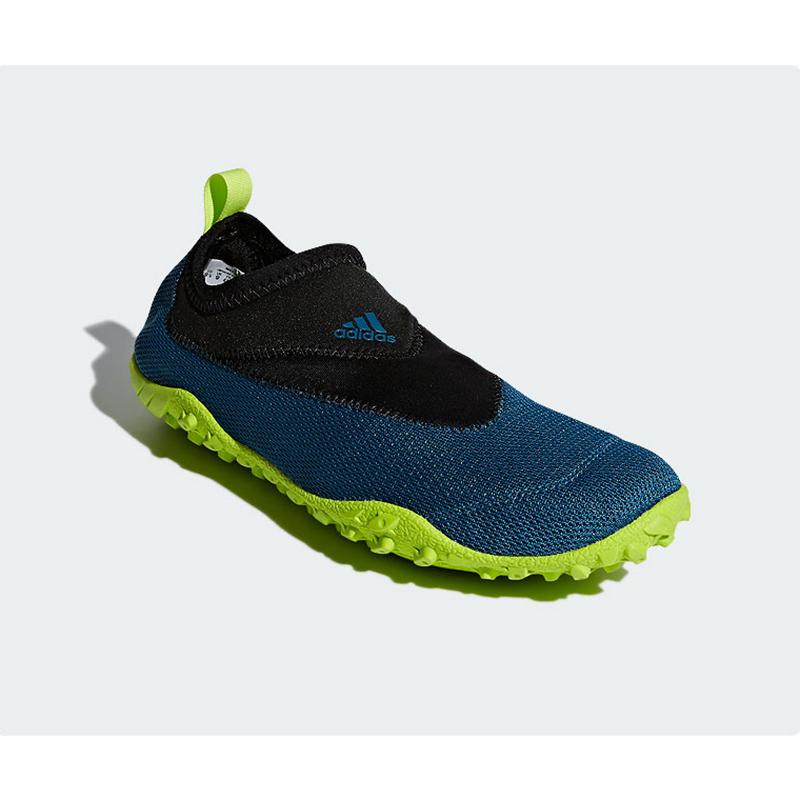 New Adidas Climacool Kurobe BLACK / GREEN WATER SHOES CM7524