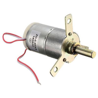 1pcs High Torque 12v Dc 25 Rpm Gear-box Stabilivolt Electric Motor Replacement