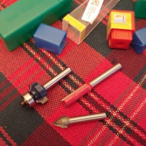 """Router Bits 1/4"""" /6mm Shank"""