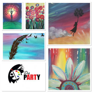 Art Parties!! BIRTHDAYS, BACHELORETTES, KIDS PARTIES, and more!