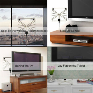 HIGH DEFINITION INDOOR TV ANTENNA - OVER 45 FREE CHANNELS
