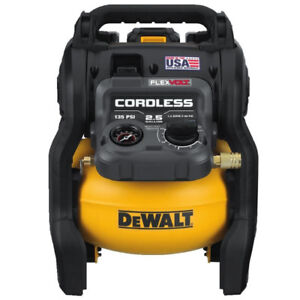 DeWalt FLEXVOLT 60V MAX 2.5 Gallon Cordless Air Compressor