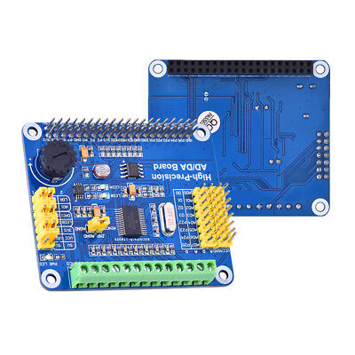 High-precision 24 Bit Ads1256 16 Bit Dac8532 Expansion Board For Raspberry Pi