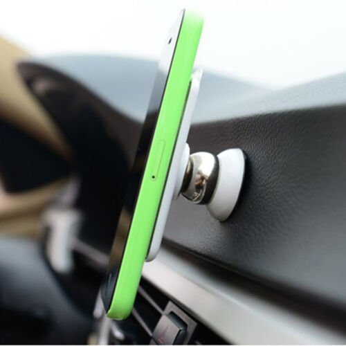 Universal 360° Car Sticky Magnetic Stand Holder Mount for Mobile Phone GPS New