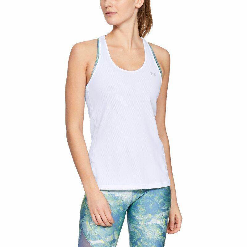 UNDER ARMOUR Damen-Tanktop Racer Tank – weiß