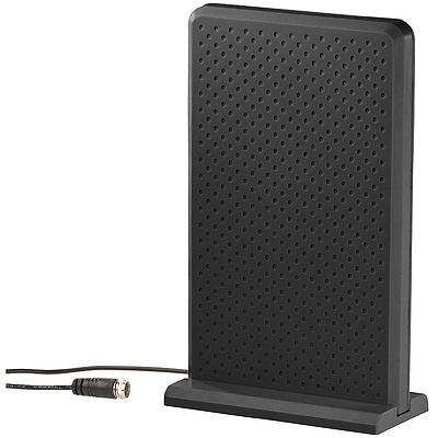 Antenne: Aktive Zimmerantenne für DVB-T/T2 & DAB/DAB+, +35 dB, LTE-Filter