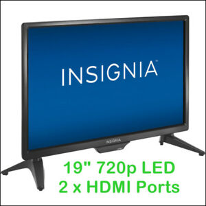 "Insignia 19"" 720p HD LED TV(BLACK) -  NS-19D310NA19"