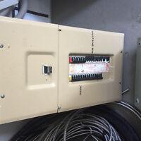 Panneau électrique federal pionnier
