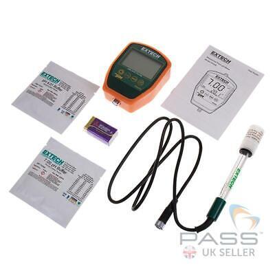 Palm-ph-meter (Extech PH220-C Waterproof Palm pH Meter Kit with Temperature / Genuine UK Stock)