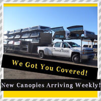 We Got You Covered !! New Truck Canopies Arriving Weekly Edmonton Edmonton Area Preview