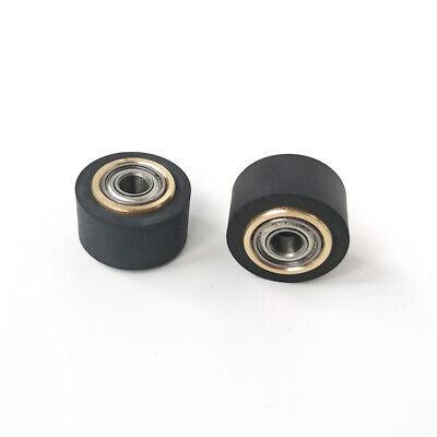 10pcs Pinch Roller Roland Graphtec Liyu Vinyl Cutter Cutting Plotter 4x10x16mm