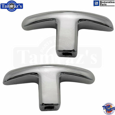 Bucket Seat Trim Parts - 62-64 Impala SS Bucket Seat Adjuster Knob Grab Handle - Trim Parts Brand PAIR