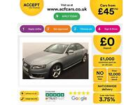 Audi A4 FROM £45 PER WEEK!