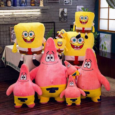 SpongeBob SquarePants Plüsch Plüschtier Spielzeug Stofftier Kuscheltier Puppe DE