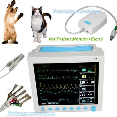 Veterinary Vet Icu Vital Signs Patient Monitor7 Parametersetco2 12.1 Contec