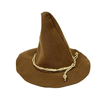 Brown Scarecrow Hillybilly Oz Hat Adult Costume Accessory Hat