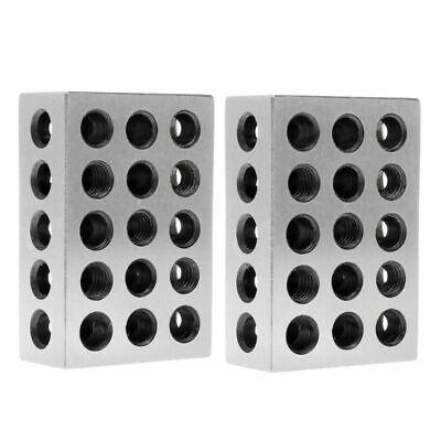 2 Pcs Hardened Steel Ultra Engineers Blocks Precision 1 X 2 X 3 Milling Tool